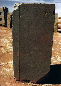 Pumapunku = Round Hole, Human Beings = Square Peg
