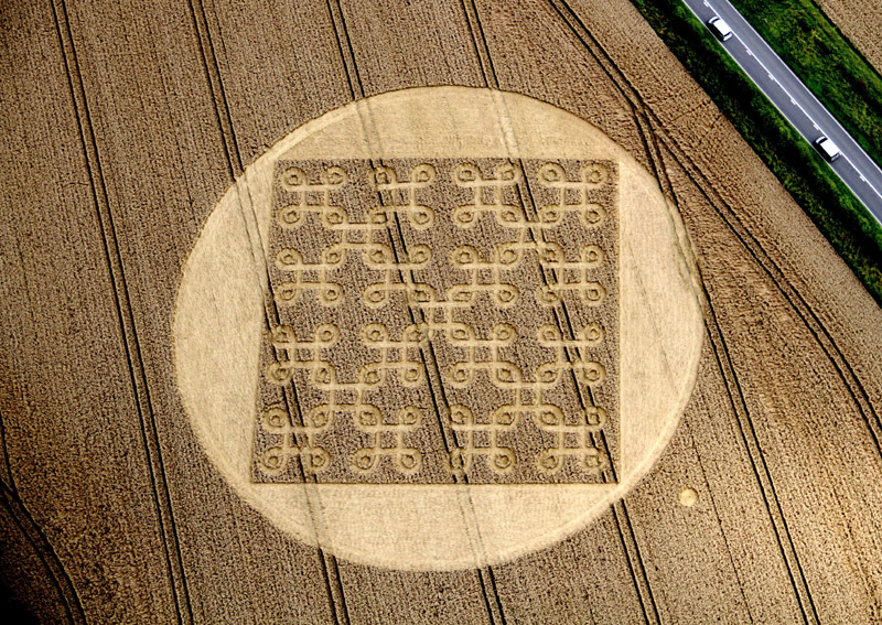 Do You Find Any Errors In This Crop Circle?