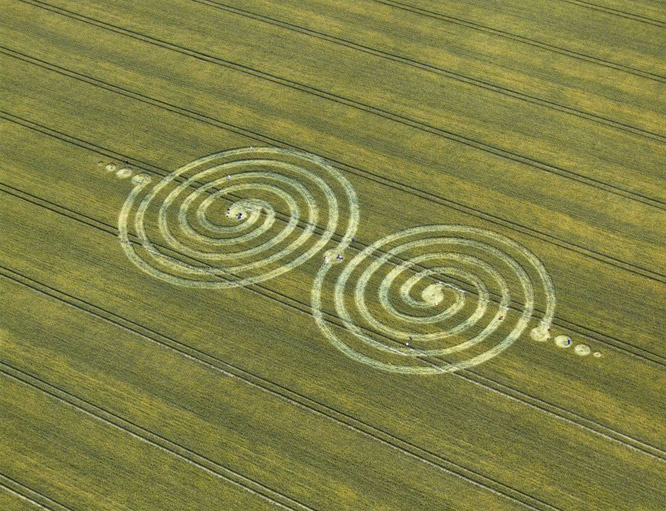 Learning From Crop Circles