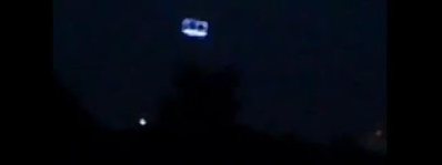 A UFO Descending: Remarkable Video!