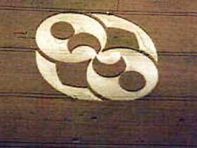 Crop Circle at Chiseldon, U.K., reported August 2, 1996.