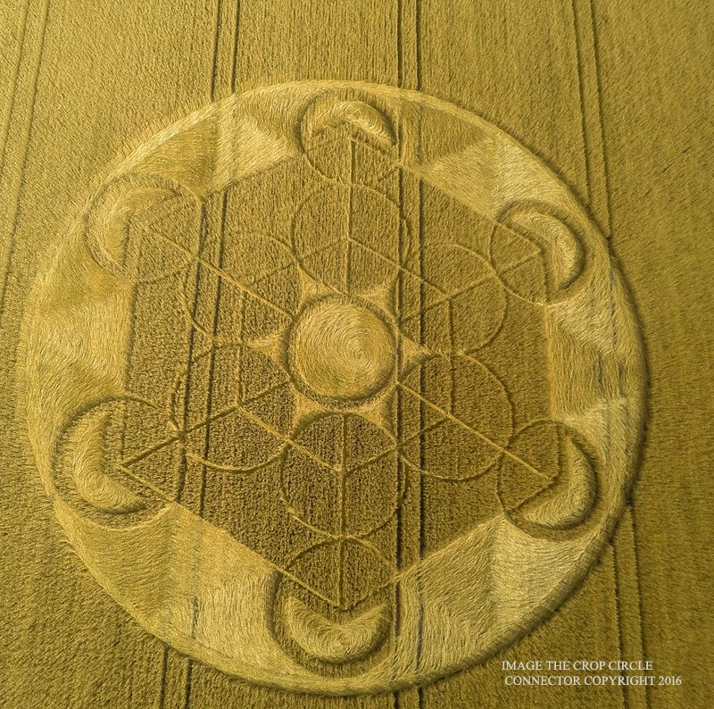 "The Peace X 6"" crop circle."