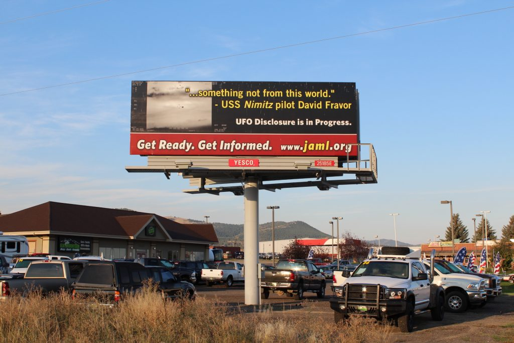 This is our 1st billboard!