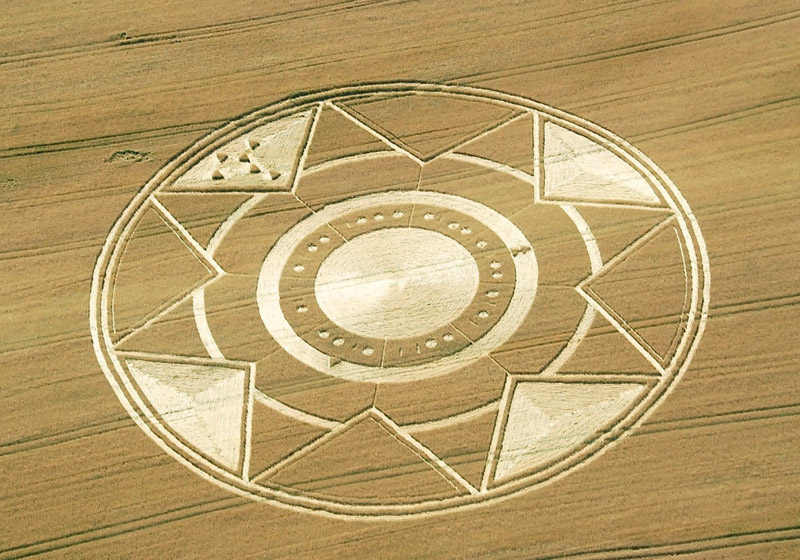 On the Cavallo Grigio, Robella, Asti, Italy Crop Circle of June 30, 2013
